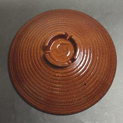 IH対応 土鍋風アルミ鍋(27cm)アメ柚