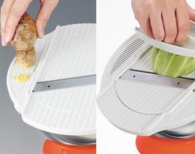 角度自在の調理器「ピタ」の枠蓋両サイド