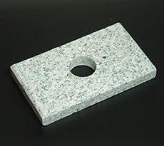 重石は大理石、さすがにどっしりしてます。