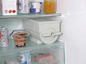 ぬか楽は冷蔵庫にもすっきり収まる