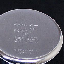 磨き屋シンジケート・一口ビアカップ・ギフト用2個セットの底面