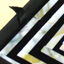 シェルコースター6枚セット(ケース付・スクエア)は、コースターが取り出しやすい!