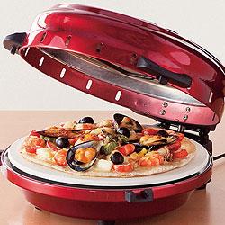 回転卓上石窯 ピザ&ロースター(タイマー付き)は、まるで自宅に石窯やってきたかのような興奮と感動を与えてくれます(笑)