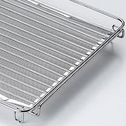 IHラジエントヒーター用・焼き網は二段構造