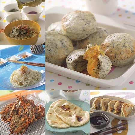 マルチジューサー&クッカー・ベジフルに付属の、料理研究家・フルタニマサエさんのレシピ本を参考にすればこんなに美味しい料理が誰でも簡単に!