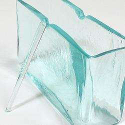 バリガラス製蚊やり(蚊取り線香ホルダー)角・ノーマル