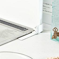 ステンレス製 IHクッキングヒーター&ガスコンロカバー<br />(システムキッチン用)ホワイト 75cm
