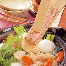 竹製 つみれ皿(ヘラ付き)で、鍋がさらに美味しくなります。