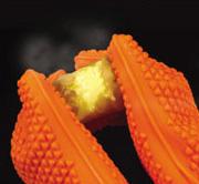 耐熱シリコン製・五本指クッキンググローブ、使用例1