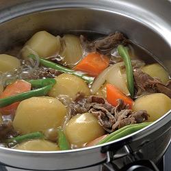 ふきこぼれない対流鍋「くるめん亭」は茹でるだけでなく煮物だってOK!