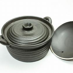 炊飯鍋 ごはん鍋 土鍋 IH対応 1〜2合用