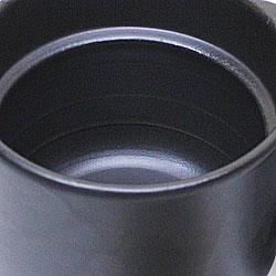 【日本製】電子レンジ用炊飯器・セラクック(黒釉)セラクックの内蓋・外蓋です。