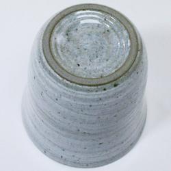 陶器二重構造・焼酎カップ裏側